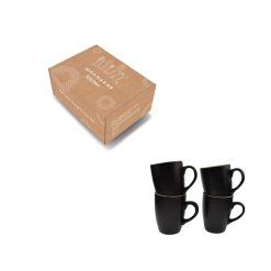 Orange85 Koffiekopjes 240ml 4 stuks Matzwart 5_verpakking