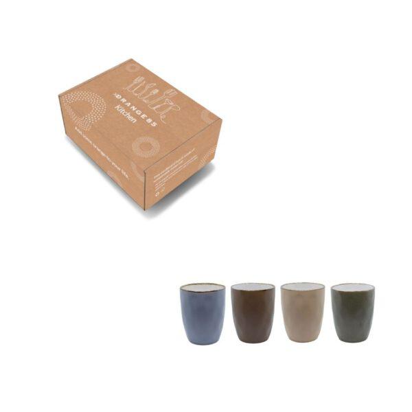 Koffiekopjes set 280 ml in verpakking
