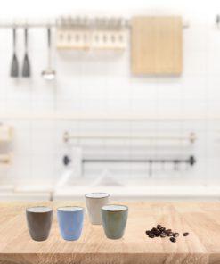 Koffiekopjes set 160 ml in situatie