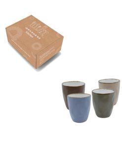Koffiekopjes set 160 ml in verpakking