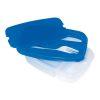 Orange85 Lunchbox Blauw met Bestek 2 Delen 1_vooraanzicht