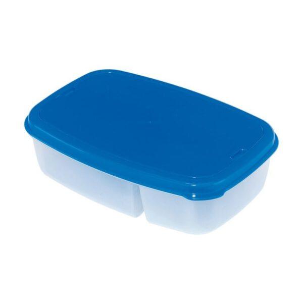 Orange85 Lunchbox Blauw met Bestek 2 Delen 2_detail