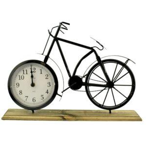 Tafelklok fiets vooraanzicht