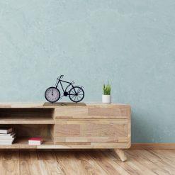 Tafelklok fiets in situatie