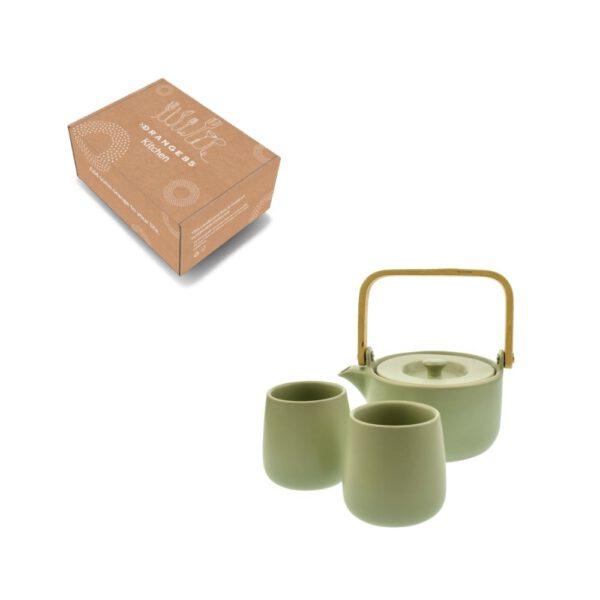 Orange85 Theepot Mint 50cl met 2 kopjes 6_verpakking