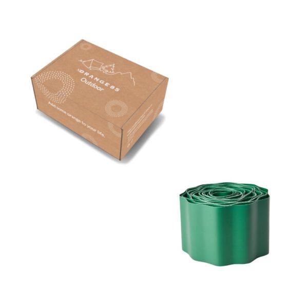 Orange85 Borderrand Kunststof Groen 9 Meter 6_verpakking