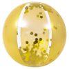 Gouden Strandbal vooraanzicht