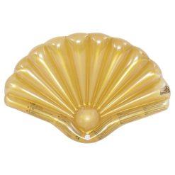 vooraanzicht schelpvormige zwemband