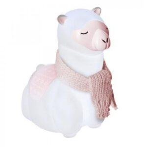 Nachtlampje alpaca vooraanzicht