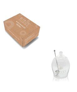 Orange85 Olijvenpot Glas met Lepel 630ml 4_verpakking