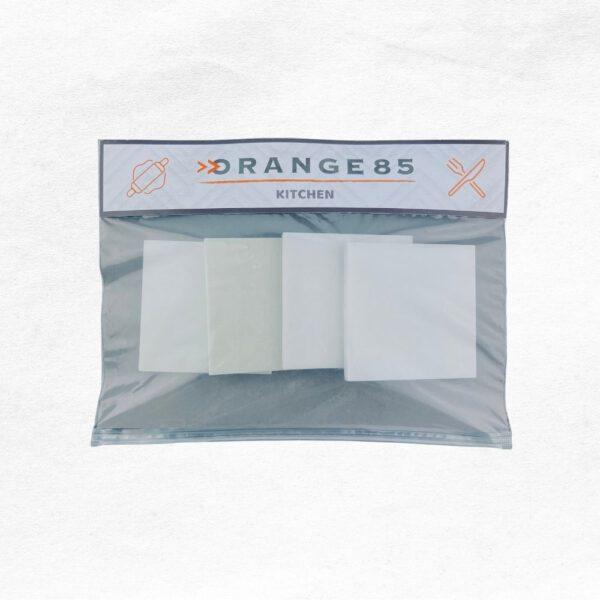 Onderzetters marmer in verpakking