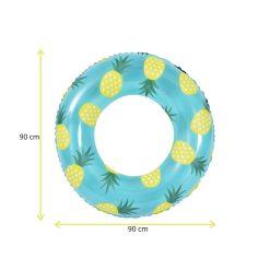 afmetingen Ananas opblaasband
