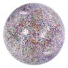 vooraanzicht Opblaasbare Glitter Strandbal