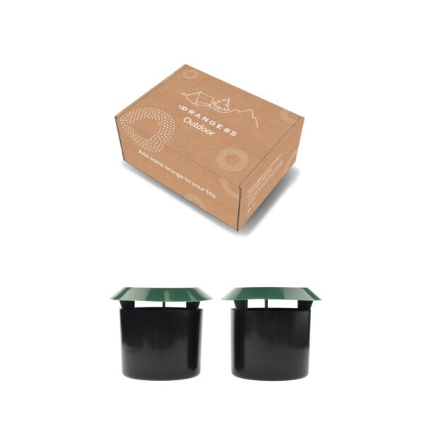 Slakkenval pot in verpakking