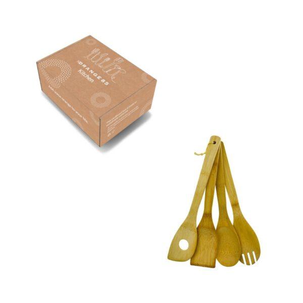 Orange85 Spatelset 4-delig Bamboe 8_verpakking
