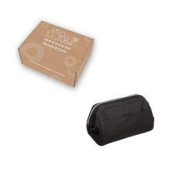 Toilettas zwart in verpakking