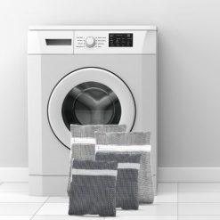 waszak set van 4 voor de wasmachine