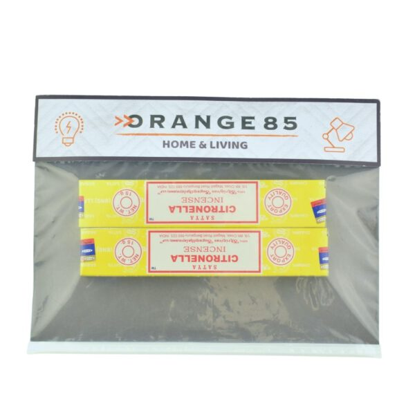 Wierook stokjes in verpakking