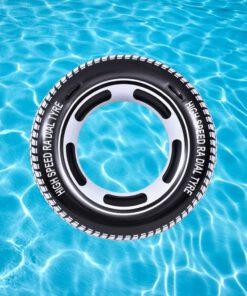 sfeerbeeld zwemband autoband