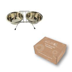 Honden Drink- en Voerbak in doos