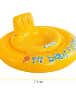 Afmetingen zwemband float