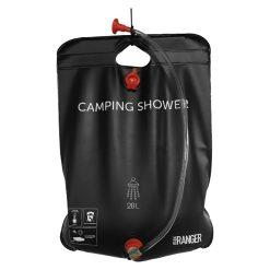 Vooraanzicht Camping douche 20 liter