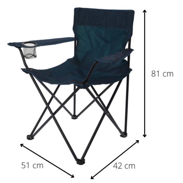 Afmetingen campingstoel