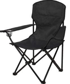 Vooraanzicht campingstoel