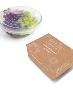 Verpakking herbruikbare silicone deksels