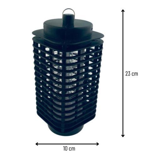 Insectenbestrijder LED afmetingen