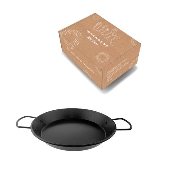 Paella pan in verpakking