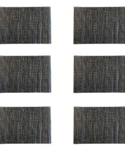 6 stuks vooraanzicht Placemat set