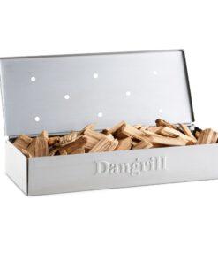 vooraanzicht smoker rookbox