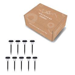 verpakking 9 tuinlampen