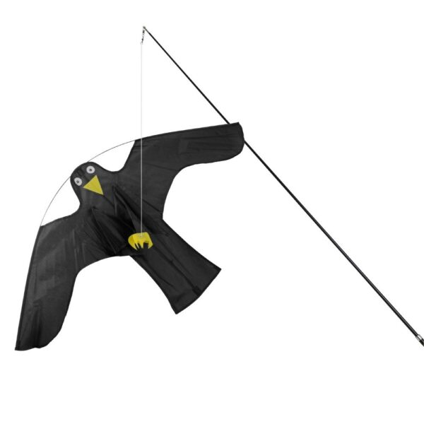 Detail vogelverjager vlieger