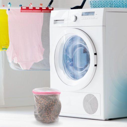 situatiebeeld Waszak voor wasgoed