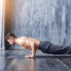 Yoga fitness mat situatiebeeld