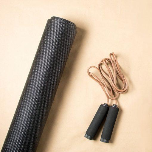 Yoga fitness mat sfeerbeeld