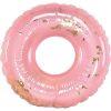 Vooraanzicht zwemband roze