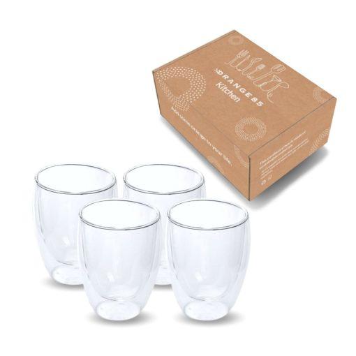 verpakking dubbelwandige glazen 4 stuks