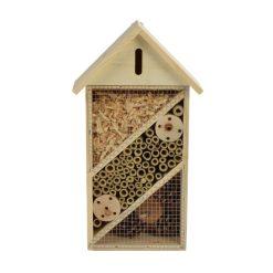 Insectenhotel vooraanzicht