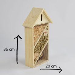 Insectenhotel afmetingen