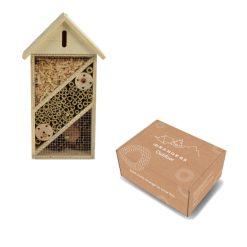 Insectenhotel in verpakking