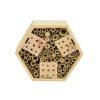 Insectenhotel hexagon vooraanzicht