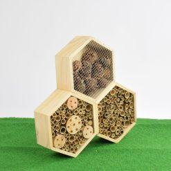 Insectenhotel Hexagon detail