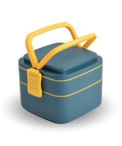 Lunchbox 2 laags vooraanzicht