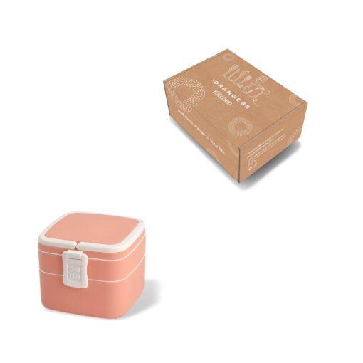 verpakking Lunchbox roze 1000 ml