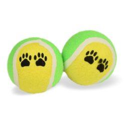 Tennisballen voor hond vooraanzicht