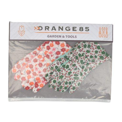 verpakking Tuinhandschoenen Bloemenprint