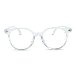 Computerbril transparant vooraanzicht